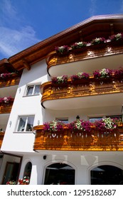 TOBLACH, ITALY - AUG 3, 2018 - 
