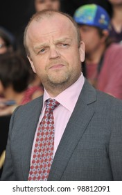 "Toby Jones at the world premiere of his new movie ""The Hunger Games"" at the Nokia Theatre L.A. Live. March 12, 2012  Los Angeles, CA Picture: Paul Smith / Featureflash"