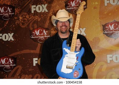 Toby Keith at the 2010 American Country Awards Press Room, MGM Grand Hotel, Las Vegas, NV. 12-06-10