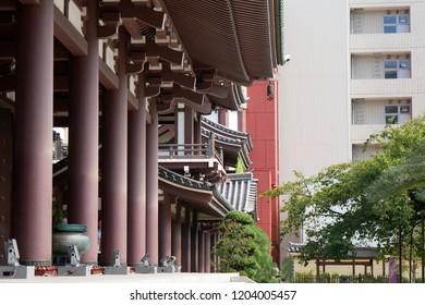 Tochoji Temple in Hakata, Fukuoka, Japan