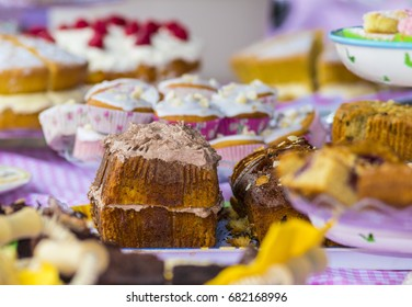 Tockenham Summer Fair cake stall