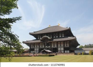 Todaiji Shrine in Japan, Nara