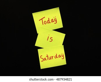 Today is Saturday