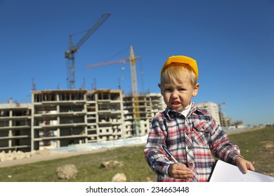 toddler construction worker