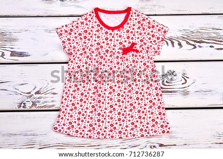 425ffbeeffcd Toddler Girl Cute Printed Top Babygirl Stock Photo (Edit Now ...