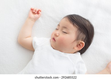 toddler taking nap time