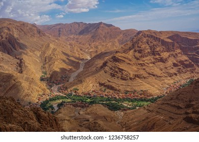 Todgha gorge, Morocco