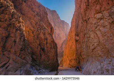 Todgha gorge (Todra gorge) in Tinerhir (Tinghir), Morocco