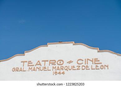 Todos Santos Baja California Sur/MEXICO. Jul-27-2017: theatre of Todos Santos.