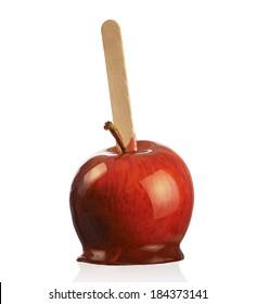 Toffee apple bite