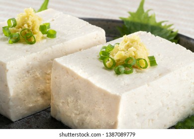 Tofu dishes made from Japanese delicious beans