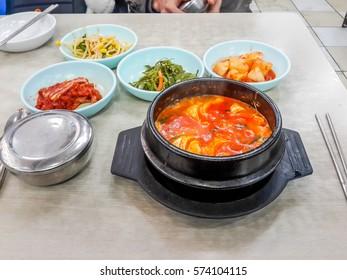 Tofu Stew,Korean food