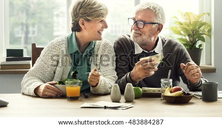 Together Pensioner Happiness Couple Retirement Concept