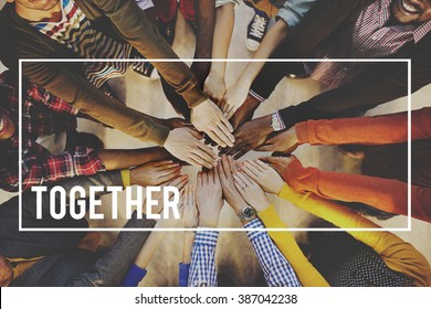 Together Team Community Unity Society Friends Concept