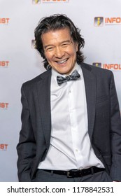 Tohoru Masamune attends INFOLIST PRE-EMMYS SOIREE  at Skybar at the Mondrian Hotel, West Hollywood, California on September 12th, 2018