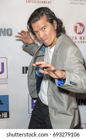 Tohoru Masamune attends  In Vino - Premiere at The Writers Guild Theater on July 27th 2017 in Beverly Hills, California