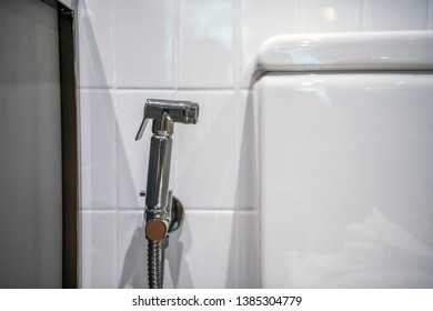 Fine Bidet Sprayer Images Stock Photos Vectors Shutterstock Ocoug Best Dining Table And Chair Ideas Images Ocougorg
