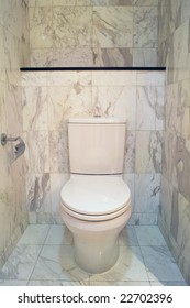 Toilet Bowl In Portrait