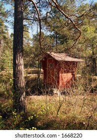 Toilet near hiking path, Finland