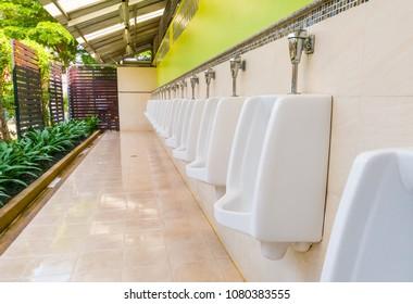 toilet outdoor for men