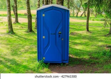 Toilet in the park