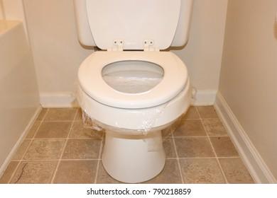 Sensational 1000 Saran Wrap On Toilet Stock Images Photos Vectors Pdpeps Interior Chair Design Pdpepsorg