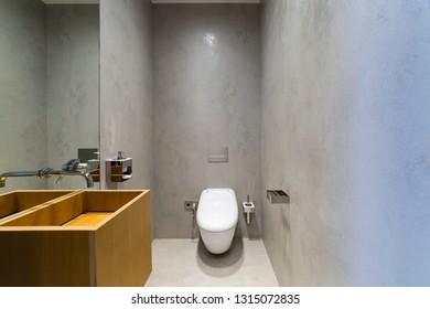 Toilet room design