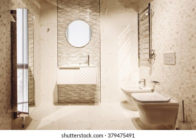 toilet room interior design