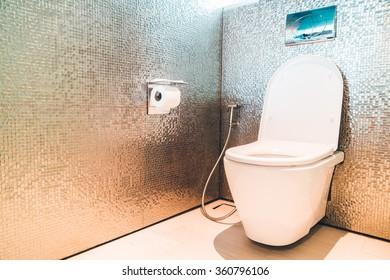 Toilet room interior - Vintage filter
