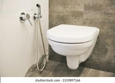 toilet sanitary sink or bowl and bidet sower