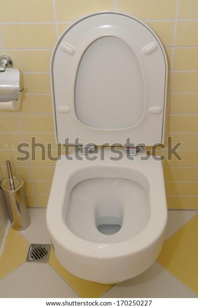 Toilet seat.