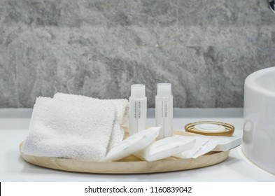 The Toiletry in Wooden Tray