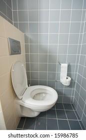 toilette in hotel room