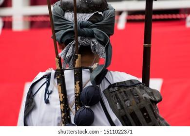 Tokugawa shogunate one hundred gun infantry squad