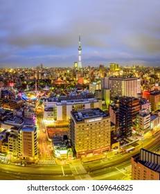 TOKYO - APR.8: With over 35 million people, Tokyo is the world's most populous metropolis and is described as one of the three command centers for world economy April 8, 2018 in Tokyo, Japan