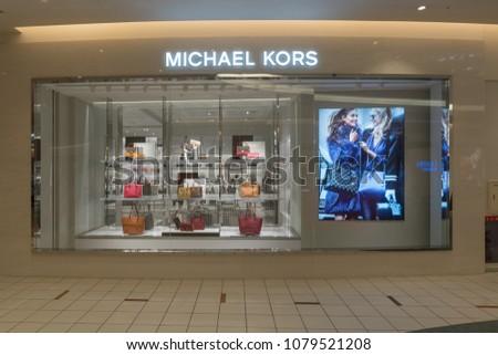 374582fbf80f TOKYO AUG 22 Michael Kors Shop Stock Photo (Edit Now) 1079521208 ...