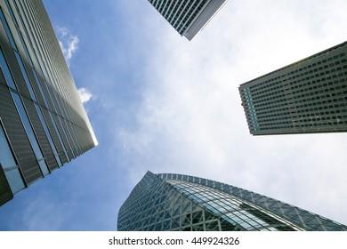 Tokyo buildings.