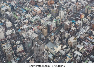 Tokyo city from above