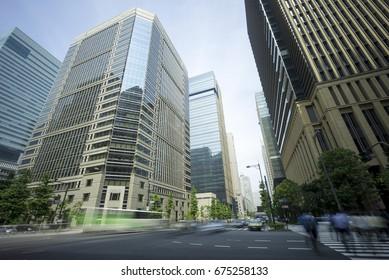 Tokyo Cityscape Otemachi