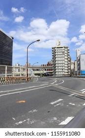 TOKYO, JAPAN. 2018 Aug 14th. Street View of Ikebukuro City.