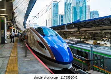 TOKYO JAPAN - 5 AUG 2018 : Train and subway station in japan is the popular transportation