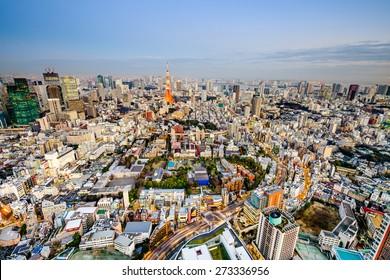 Tokyo, Japan cityscape.