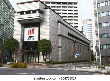 Tokyo, Japan - January 2, 2015: Tokyo Stock Exchange building