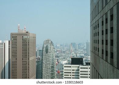 Mode Gakuen Cocoon Tower Images, Stock Photos & Vectors