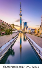 TOKYO, JAPAN - NOVEMBER 3, 2012: The Tokyo Skytree. The Skytree is considered the second tallest structure in the world .