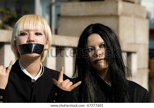 Photos of girls in japan
