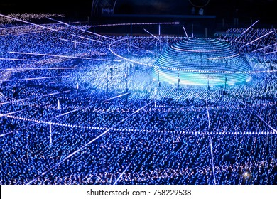 tokyo midtown illumination light christmas