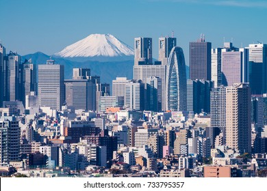 TOKYO - NOV.10: With over 35 million people, Tokyo is the world's most populous metropolis and is described as one of the three command centers for world economy November 10, 2016 in Tokyo, Japan