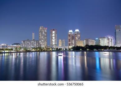 Tokyo Odaiba Skyline