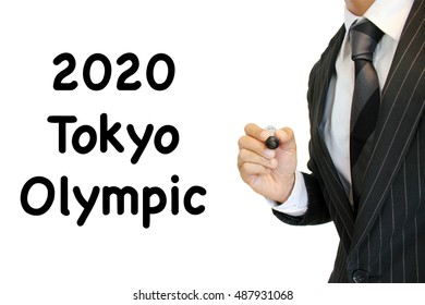 Tokyo Olympics written by a young businessman